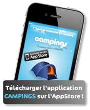 CAMPINGS application Iphone